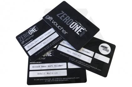 Ground Zero Gift Voucher for Gun Rental