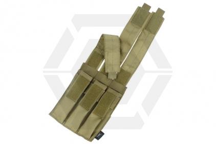 TMC MOLLE Triple Mag Pouch for SMG (Khaki)