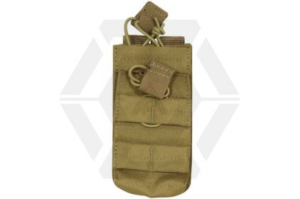 Viper MOLLE Quick Release Stacked Single Mag Pouch (Coyote Tan) © Copyright Zero One Airsoft