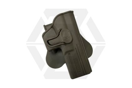 Amomax Rigid Polymer Holster for G17 (FDE) © Copyright Zero One Airsoft
