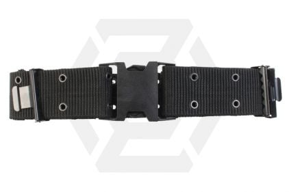 Mil-Com Quick Release Pistol Belt (Black) © Copyright Zero One Airsoft