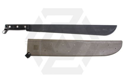 Tru-Spec Machete with Rigid Sheath