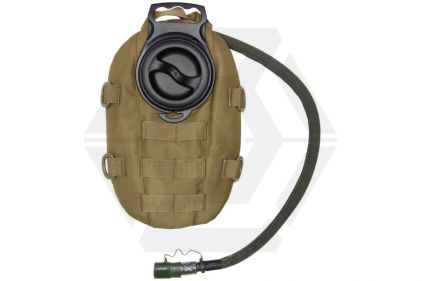 101 Inc MOLLE Waterpack with 1.5L Hydration Bladder (Coyote Tan)