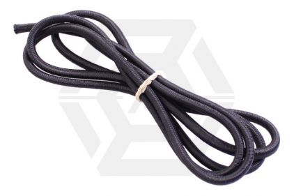 Zero One Bungee Cord 5mm x 1m (Black) © Copyright Zero One Airsoft