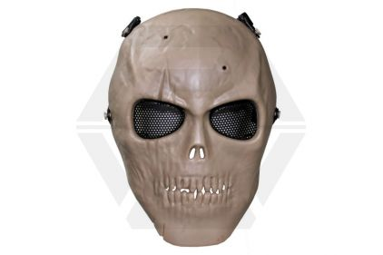 MFH Skull Mask (Coyote Tan) © Copyright Zero One Airsoft