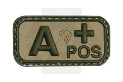 Viper Velcro PVC Blood Group Patch A+ (MultiCam)