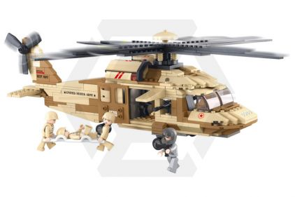 Sluban Black Hawk Helicopter M38-B0509 © Copyright Zero One Airsoft