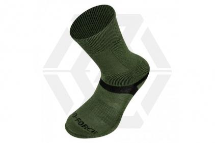 Highlander Taskforce Socks (Olive) - Medium © Copyright Zero One Airsoft