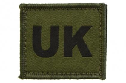 Vanguard Velcro UK Patch (Olive)