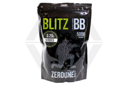 Zero One Blitz BB 0.20g 5000rds (Black)