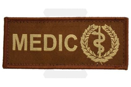 Vanguard Velcro MEDIC Patch (Tan)