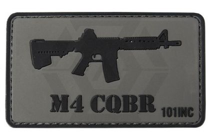 "101 Inc PVC Velcro Patch ""M4 CQBR"""