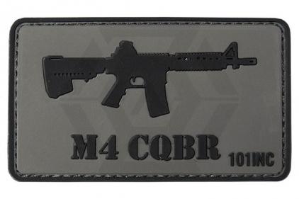 "101 Inc PVC Velcro Patch ""M4 CQBR"" © Copyright Zero One Airsoft"