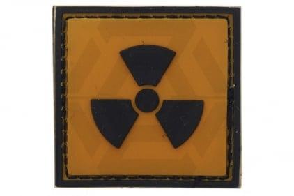 """VOS PVC Velcro Patch """"Radioactive"""""""