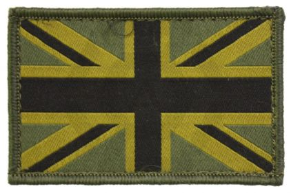 Vanguard Velcro Union Jack Patch (Olive)