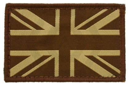 Vanguard Velcro Union Flag Patch (Tan)