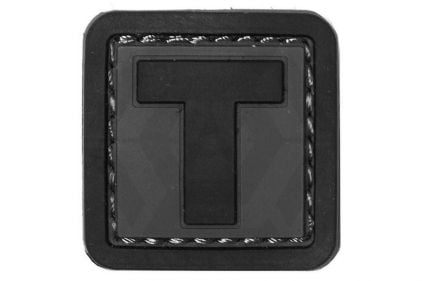 "VOS PVC Velcro Patch ""T"""