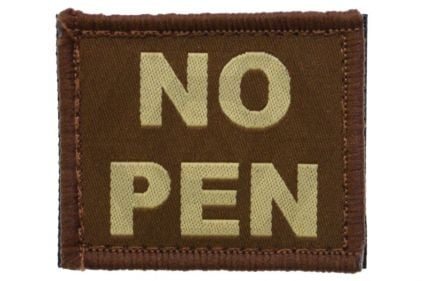 Vanguard Velcro NO PEN Patch (Tan)