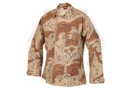 "Tru-Spec U.S. BDU Shirt (Desert Choc-Chip) - Chest M 37-41"" © Copyright Zero One Airsoft"