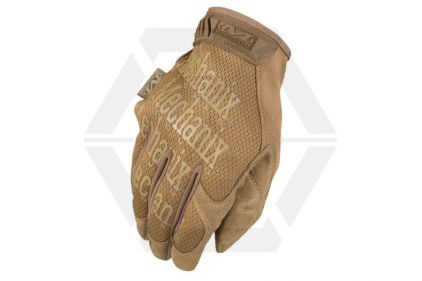 Mechanix Original Gloves (Coyote) - Size Small © Copyright Zero One Airsoft