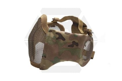 ASG Padded Mesh Mask with Ear Protection (Multicam) © Copyright Zero One Airsoft