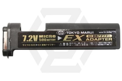 Tokyo Marui AEP 7.2v 500mAh NiMh Battery EX Conversion Adapter for Tokyo Marui AEP PM7A1 & MAC10 © Copyright Zero One Airsoft
