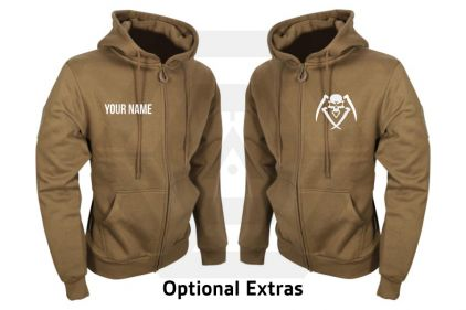 Daft Donkey Special Edition NAF 2018 'Bravo' Viper Zipped Hoodie (Coyote Tan)