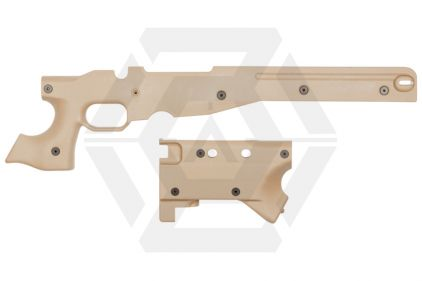 ASG Frame and Stock for AW338 (Tan)