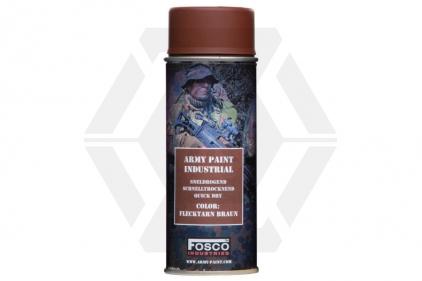 Fosco Army Spray Paint 400ml (Flecktarn Brown)