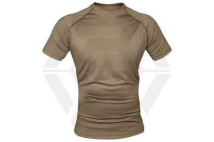 Viper Mesh-Tech T-Shirt (Coyote Tan) - Size Extra Large