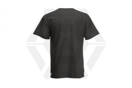 Daft Donkey Christmas T-Shirt 'Merry Christmas You Filthy Animal' (Grey) - Size Medium
