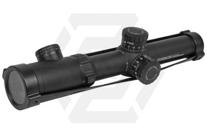 G&G 1.1-4x24 Blue/Green Illuminating Scope with Target Dot Reticle