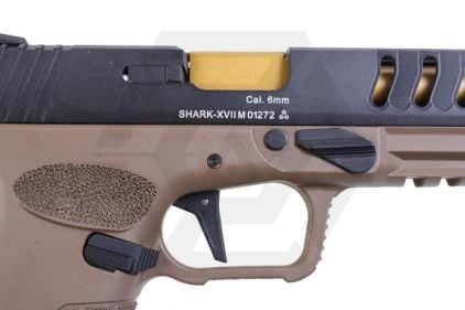 APS GBB CO2 Shark with Full-Auto (Tan)
