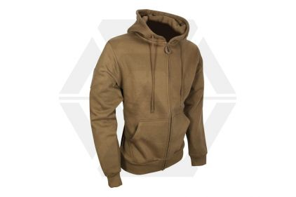 Viper Tactical Zipped Hoodie (Coyote Tan) - Size Extra Extra Extra Large © Copyright Zero One Airsoft
