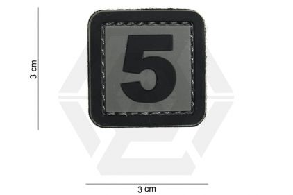 "VOS PVC Velcro Patch ""5"""