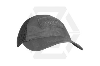 Viper Flexi-Fit Baseball Cap Titanium (Grey)