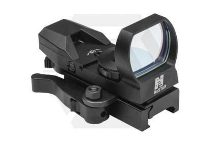 NCS Multi Reticule Red Illuminating Reflex Sight with QR Mount © Copyright Zero One Airsoft