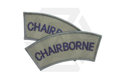 "Vanguard Shoulder Flash Pair ""Chairborne"" (Subdued)"