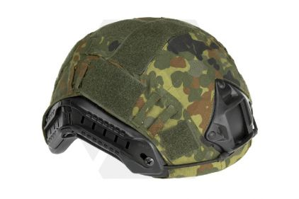 Invader Gear Fast Helmet Cover (Flecktarn)