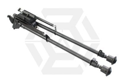 """ZCA Spring Eject Bipod 12"""" © Copyright Zero One Airsoft"""