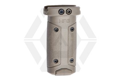 ASG HERA Arms Vertical Foregrip for 20mm Rail (HFG) (Tan)