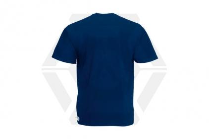 Daft Donkey T-Shirt 'Just Hit It' (Navy) - Size Large