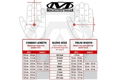 Mechanix Gauntlet Gloves (Black) - Size Extra Large