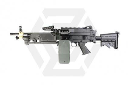 A&K AEG M249 MX1 (Black) © Copyright Zero One Airsoft
