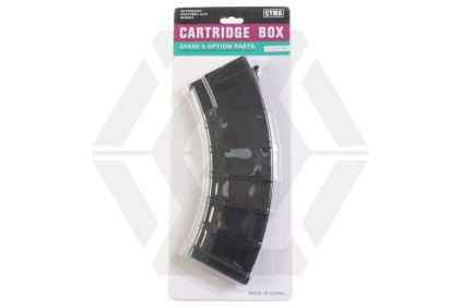 CYMA AEG Mag for AK 200rds (Black)