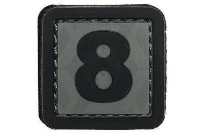 "VOS PVC Velcro Patch ""8"""
