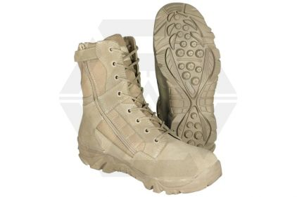 Mil-Com Recon Side Zip Boot (Coyote) - Size 7