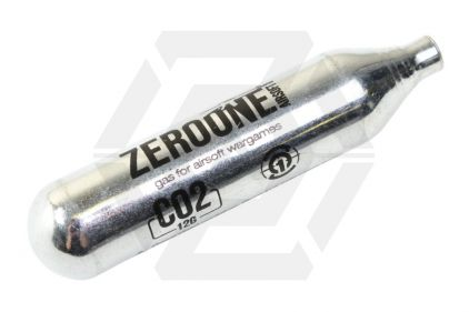 Zero One 12g CO2 Capsule © Copyright Zero One Airsoft