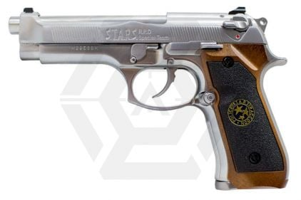 WE GBB M92 BioHazard (Silver)