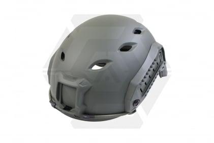 MFH ABS Fast Para Helmet (Olive) © Copyright Zero One Airsoft
